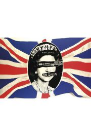 Sex Pistols God Save the Queen - plakat