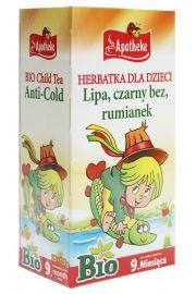 Herbatka Dla Dzieci - Na Przeziębienie Bio 20 X 1,5 G - Apotheke