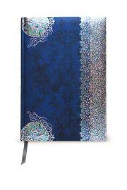 Kalendarz 2017 B6 41TN z notatnikiem metalizowany Lazur