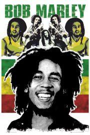 Bob Marley Rasta - plakat