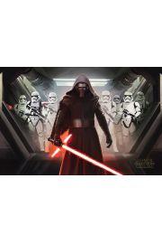Star Wars Gwiezdne Wojny Przebudzenie Mocy Kylo Ren i Szturmowcy - plakat
