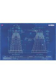 Doctor Who Blueprint - plakat