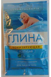 Niebieska Glinka tonizuj�ca z ekstraktem z listownicy OOO Stimul-kolor kosmetyk