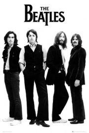 The Beatles White - plakat