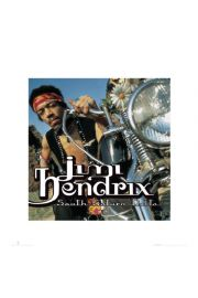 Jimi Hendrix Motocykl - reprodukcja