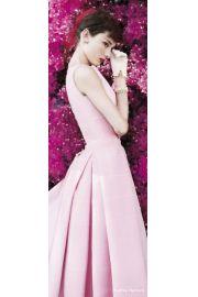 Audrey Hepburn Kwiaty - plakat