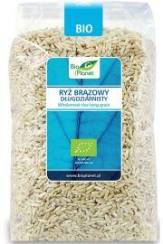 Ryż Brązowy Długoziarnisty Bio 1 Kg - Bio Planet