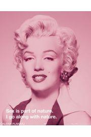 Marilyn Monroe Cytat - plakat