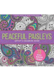Kolorowanka Artystyczna Paisley