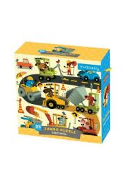 Mudpuppy, Puzzle JUMBO – 25 elementów: Budowa