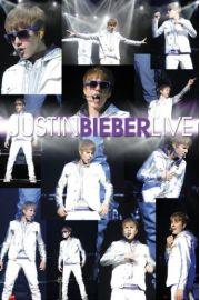 Justin Bieber na �ywo - plakat
