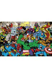 Marvel Komiks - MIX Bohaterów - plakat