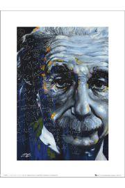 Albert Einstein Fishwick Relative - art print
