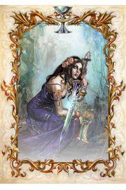Karty Modlitwa Galahada