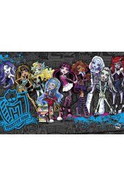 Monster High Upiorna Szkoła Obsada - plakat