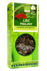 Herbatka Liść Maliny Bio 25 G - Dary Natury