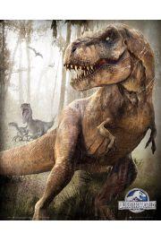 Jurassic World Jurajski Park T-Rex - plakat