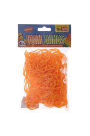 Pomarańczowe Gumki Loom Bands 600 sztuk