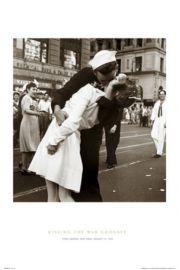 Poca�unek Ko�cz�cy Wojn� - Nowy Jork - plakat