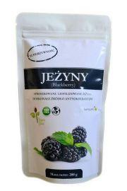 Jeżyny - liofilizowane, sproszkowane - 200 g
