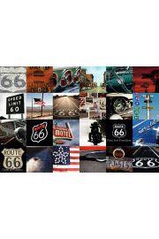 Route 66 Mozaika - plakat