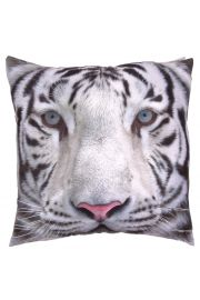 Poduszka z wypełnieniem 50 x 50cm Tygrys Śnieżny