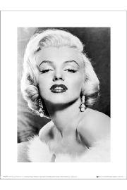 Marilyn Monroe Earings - art print