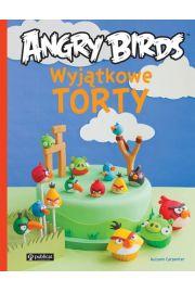 Wyjątkowe torty angry birds.