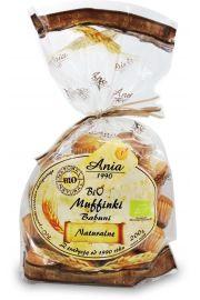 Muffinki Babuni Naturalne Bio 200 G - Bio Ania