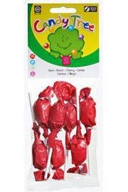 Lizaki Okrągłe O Smaku Wiśniowym Bezglutenowe Bio (7 X 10 G) - Candy Tree