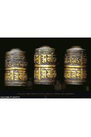 Buddyzm - Młynki Modlitewne - plakat