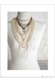 Pearls Mannequin - art print