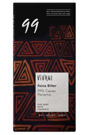 Czekolada Gorzka 99% Kakao Bio 80 G - Vivani