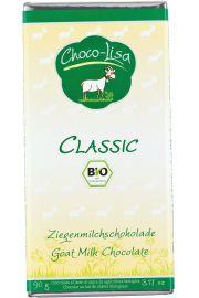 Czekolada Z Mlekiem Kozim Bio 90 G - Choco Lisa