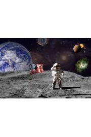 Lądowanie na Księżycu - Kosmos - plakat