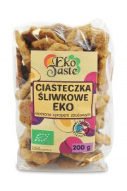 Ciasteczka Śliwkowe Bio 200 G - Eko Taste (Tast)