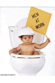 Facet w Pracy - Dziecko - zabawny plakat