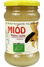 Miód Malina Leśna Bio 400 G - Sznurowski