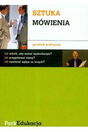 Sztuka mówienia poradnik praktyczny PARK/PWN