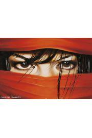 Arabskie Oczy - zmysłowy plakat