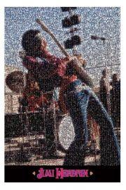 Jimi Hendrix Mozaika - plakat