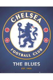 Chelsea Londyn - godło klubu - plakat