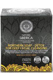 Czarne mydło północne DETOX głębokie oczyszczenie NS Natura Siberica