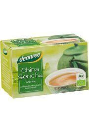 Herbata Zielona Chińska Sencha Ekspresowa Bio 20 X 1,5 G - Dennree