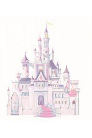 RoomMates, Zamek Disney`a (z brokatem) - naklejki wielokrotnego użytku