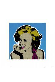 Marilyn Monroe popart - reprodukcja
