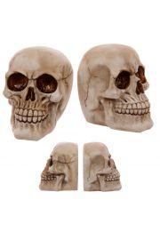 Para podp�rek do ksi��ek - dwie czaszki