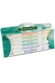 Kadzidełka  Stamford  - zestaw 6 pudełek - Aromaterapia