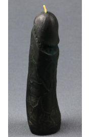 Świeca z wosku falliczna czarna
