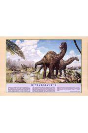 Dinozaury - Dikreozaur - plakat